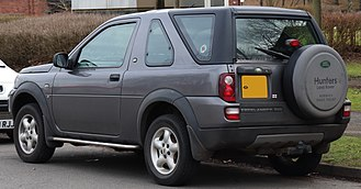 Land Rover Freelander - Facelift Land Rover Freelander 3-door (United Kingdom)