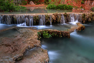 Havasu Creek stream in Arizona, United States of America