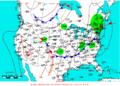 2009-06-12 Surface Weather Map NOAA.png