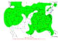 2009-12-13 24-hr Precipitation Map NOAA.png