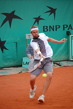 Mardy Fish - Fish at Roland Garros
