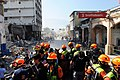 2010년 중앙119구조단 아이티 지진 국제출동100118 중앙은행 수색재개 및 기숙사 수색활동 (143).jpg