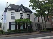 Piet Mondrian lived in this house from 1880 to 1892 now the Villa Mondriaan, in Winterswijk