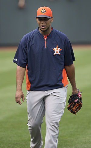 José Cisnero - Cisnero with the Houston Astros