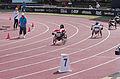 2013 IPC Athletics World Championships - 26072013 - Catherine Debrunner of Switzerland during the Women's 400M - T53 second semifinal 17.jpg