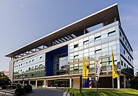 2014-07-24 Zentrale Deutsche Postbank AG, Friedrich-Ebert-Allee 114-126, Bonn-Gronau IMG 2178.jpg