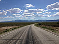 2014-08-09 15 56 47 View west along U.S. Routes 6 and 50 about 71.3 miles east of the Nye County line in White Pine County, Nevada.JPG