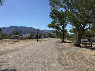 Schurz, Nevada - Image: 2015 04 29 15 41 54 Side road in Schurz, Nevada