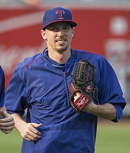 20150630-0488 Tanner Scheppers.jpg. Scheppers with the Texas Rangers ...
