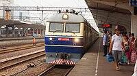 201508 T7786 arrived at Jinhua Station.JPG