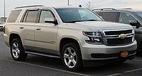 2015 Chevrolet Tahoe LT 5.3L front 3.24.19.jpg