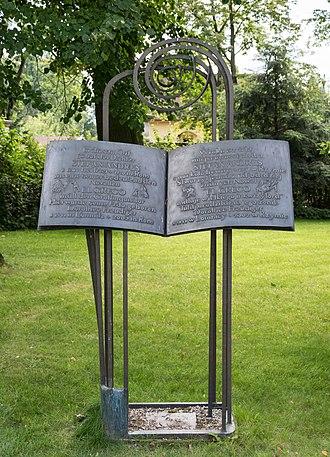 Stefan Andres - Memorial plaque of Stefan Andres
