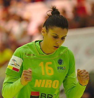 Denisa Dedu Romanian handball player