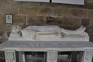 Gisant de Jean V de Bretagne