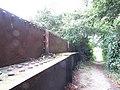 2018-09-12 Iron footbridge over the dissused Norfolk and Suffolk Joint Railway, Knapton (2).JPG