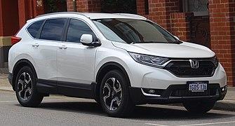 2018 Honda CR-V (RW MY18) +Sport 2WD wagon (2018-10-22) 01