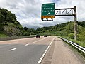 2019-05-17 12 33 29 View west along Interstate 68 and U.S. Route 40 and south along U.S. Route 220 (National Freeway) at Exit 46 (Naves Cross Road) in Wolfe Mill, Allegany County, Maryland.jpg