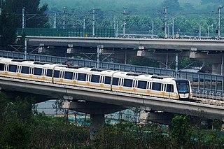 Chengjiao line rapid transit line of Zhengzhou Metro