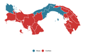 2019 Panama Presidential Election Map.png