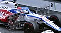 2020 Formula One tests Barcelona, Williams FW43, Russell, pitot tubes (cropped).jpg