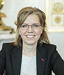 2020 Leonore Gewessler Ministerrat am 8.1.2020 (49351367291) (cropped) (cropped).jpg