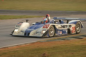 MG-Lola EX257 - Dyson Racing's MG-Lola EX257 at the 2005 Petit Le Mans.