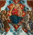 22 Madonna con Bambino in gloria tra angeli, santa Maria Maddalena e san Bernardo 188x177cm, 1480-90 Louvre, Paris.jpg