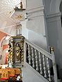230313 Pulpit of Church of Saint Dorothy in Cieksyn - 02.jpg