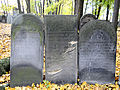 251012 Detail of tombstones at Jewish Cemetery in Warsaw - 54.jpg