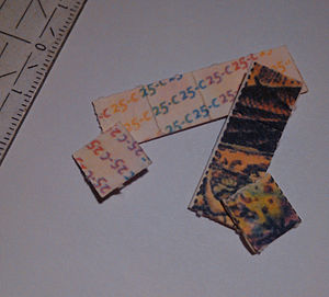 25C-NBOMe - Blotter paper containing 25C-NBOMe