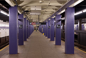 Second Avenue (IND Sixth Avenue Line) - Station platform