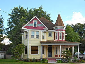 Townsend, Delaware - House on Main Street