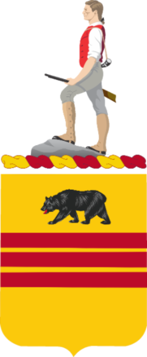 308th Cavalry Regiment (United States) - Coat of Arms of the 308th Cavalry Regiment