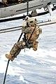 31st MEU Marines fast rope aboard USS Bonhomme Richard 140312-N-MK341-018.jpg