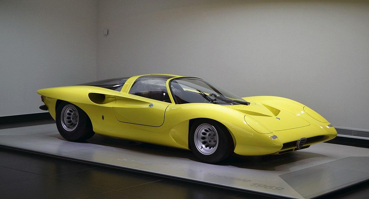 Alfa Romeo 33 Pininfarina Coupe Prototipo Speciale Wikipedia
