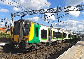 British Rail Class 350 - London Midland Class 350 No. 350265 at Watford Junction