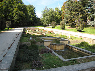 Astrid Park - Water feature in Astrid Park
