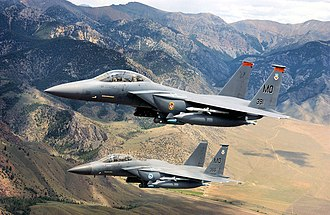 Mountain Home Air Force Base - Image: 366th operationsgroup 3 F 15Es