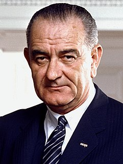 Lyndon B. Johnson 36th president of the United States