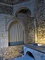 393 Banys Àrabs de Girona, arcs a l'apodyterium.JPG