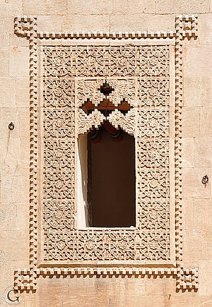 Beit Ghazaleh - Example of the ornate windows of Beit Ghazaleh