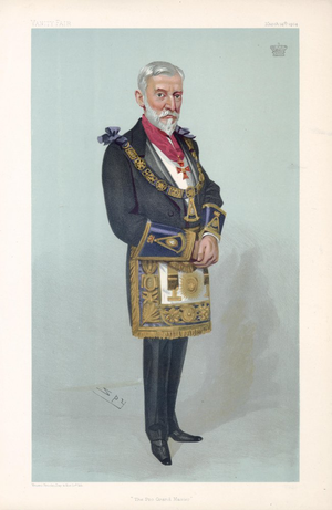 William Amherst, 3rd Earl Amherst - The Earl Amherst by Leslie Ward, 1904.