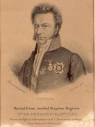 Martial de Guernon-Ranville - Image: 4 Comte Martial de Guernon Ranville