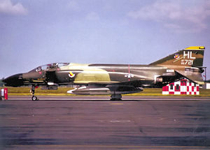4th Fighter Squadron - McDonnell F-4D-28-MC Phantom 65-0721, about 1978