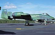 510th Tactical Fighter Squadron - Fairchild Republic A-10A Thunderbolt II - 81-0962