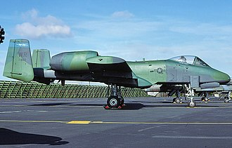 510th Fighter Squadron - Image: 510th Tactical Fighter Squadron Fairchild Republic A 10A Thunderbolt II 81 0962