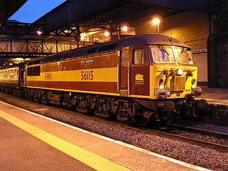 British Rail Class 56 - 56 115 on a railtour