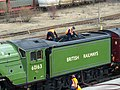 60163 Tornado 12 March 2009 Tyne Yard pic 10.jpg