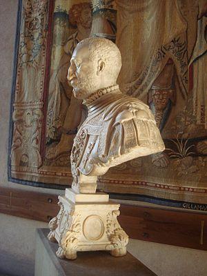 Annibale Fontana - Bust of Ottavio Farnese by Fontana