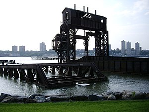 National Register of Historic Places listings in Manhattan from 59th to 110th Streets - Image: 69th st transfer bridge